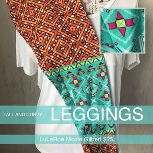 LuLaRoe Pants - LuLaRoe Tall & Curvy Leggings